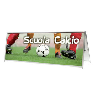 Perimetral advertising boards for sports events