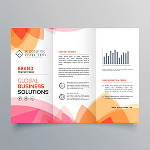 Foldout and 2,3,4-fold brochures