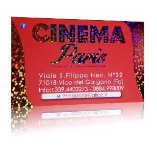 Embossed Hologram Cards