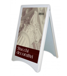 "PVC easel ""New Display"""