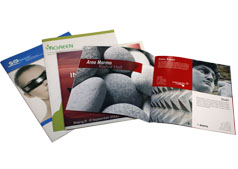 Stapled Binding - Online printing booklets with metal point