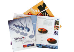 Online printig folder, flyers and brochures